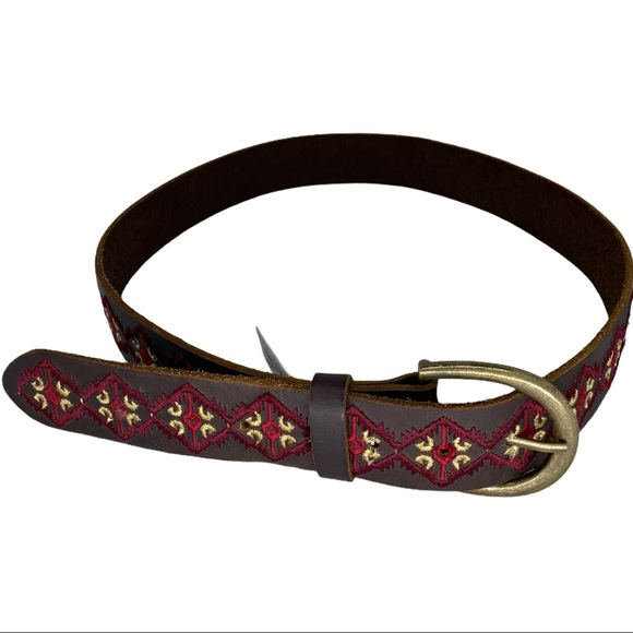 Lucky Brand Belt Embroidered new size- small